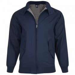 HARRINGTON NAVY JACKET