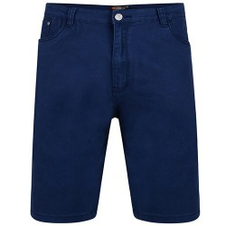 Y BERMUDE COLOURED DENIM NAVY