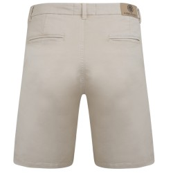 CHINO STRETCH SHORTS STONE