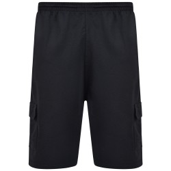 BERMUDE CARGO SHORTS BLACK